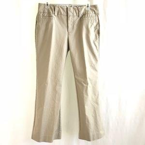 Gap Khaki Curvy Chino Bootcut Pants